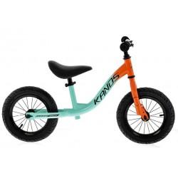 Rower biegowy 12 KANDS turkus-pomarańcz