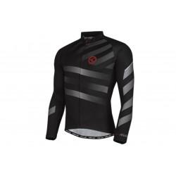 Bluza rowerowa KELLYS RIVAL długi rękaw full zip - grey M