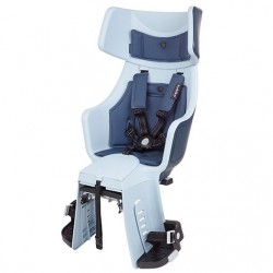 Fotelik dla dziecka BOBIKE EXCLUSIVE TOUR PLUS na bagażnik denim deluxe/ granatowo-niebieski