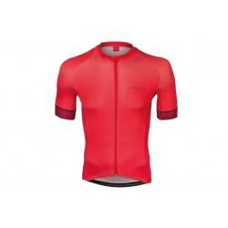 Koszulka KROSS kr.r full zip PAVE czerwona XL