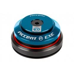 """Stery 1 1/8""""-1,5"""" ACCENT HI-EXE zintegrowane taper łożyska maszynowe, niebieskie"""