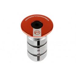 Gwiazdka sterów ACCENT AC-900 CARBON do widelców z karbonową rurą sterową 1-1/8'', pomarańczowa