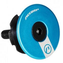 Gwiazdka sterów ACCENT AC-900 ze śrubą i kapslem 1-1/8'', niebieska