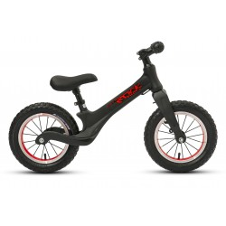 Rowerek biegowy 12 ROCK KIDS aluminium czarny mat