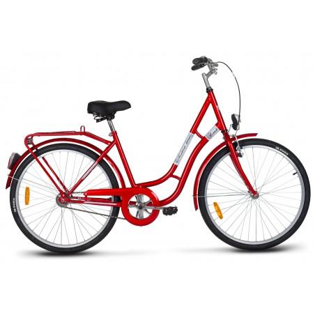 Rower turystyczny 26 KANDS LAGUNA RETRO Favorit czerwony