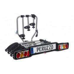 Bagażnik samochodowy na 4 rowery, na hak, Peruzzo Siena 4R, odchylany (listwa ze światłami)