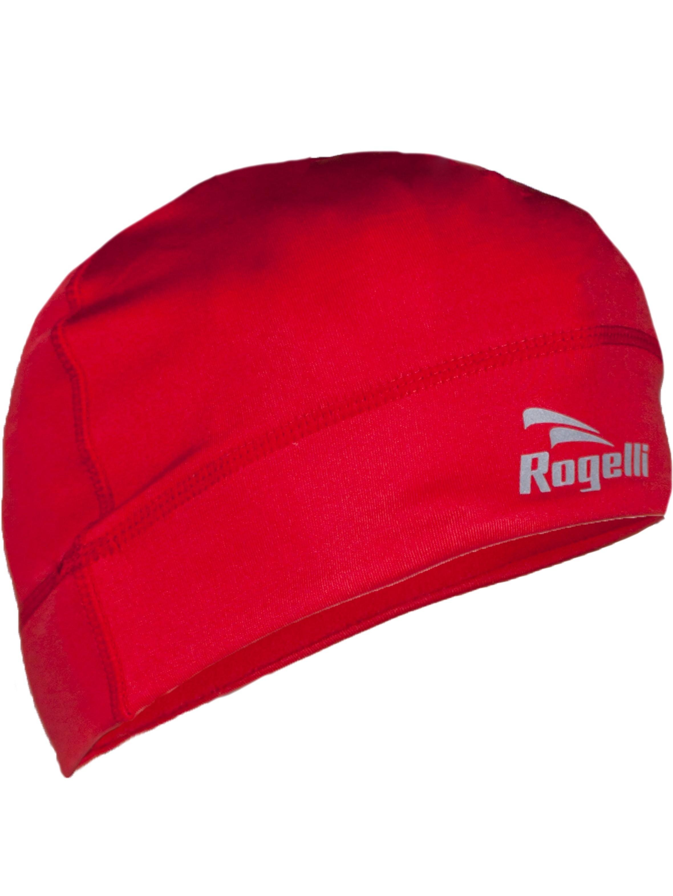 Czapka rowerowa ocieplana Rogelli czerwona