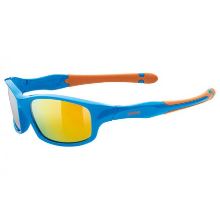 OKULARY UVEX SPORTSTYLE 507 BLUE ORANGE/MIR.ORA