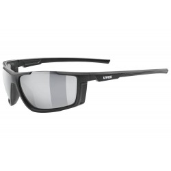Okulary UVEX SPORTSTYLE 310 black mat/mir. silv
