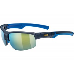 Okulary UVEX SPORTSTYLE 226 blue mat./mir.yell