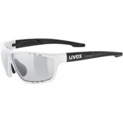 Okulary UVEX SPORTSTYLE 706 V white blk.m./smoke biało czarne