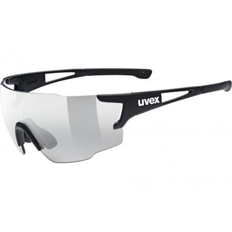 Okulary UVEX SPORTSTYLE 804 V black mat/smoke czarne