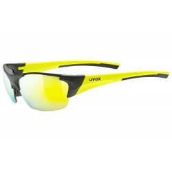 Okulary UVEX BLAZE III black mat yel./mir.yellow czarne