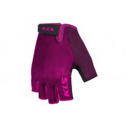 Rękawiczki KELLYS factor KRÓTKIE, purple rózowo-fiolet XS