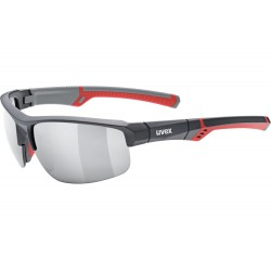 Okulary UVEX SPORTSTYLE 226 grey red mat/mir.sil