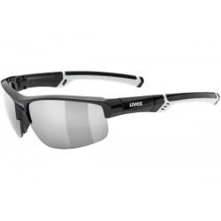 Okulary UVEX SPORTSTYLE 226 black white/ltm.sil. czarno-białe