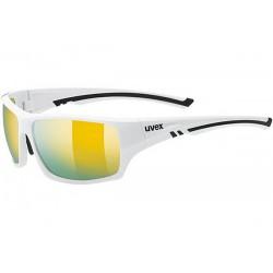 Okulary UVEX SPORTSTYLE 222 polawhite/mir. yello