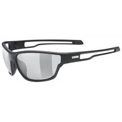 Okulary UVEX SPORTSTYLE 806 V blackm/smoke