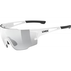 Okulary UVEX SPORTSTYLE 804 V white/smoke białe