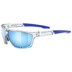 Okulary UVEX SPORTSTYLE 706 clear/mirror blue