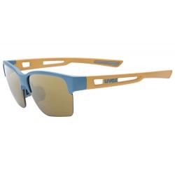 Okulary UVEX SPORTSTYLE 805 CV blue sand m/champ niebiesko- złote