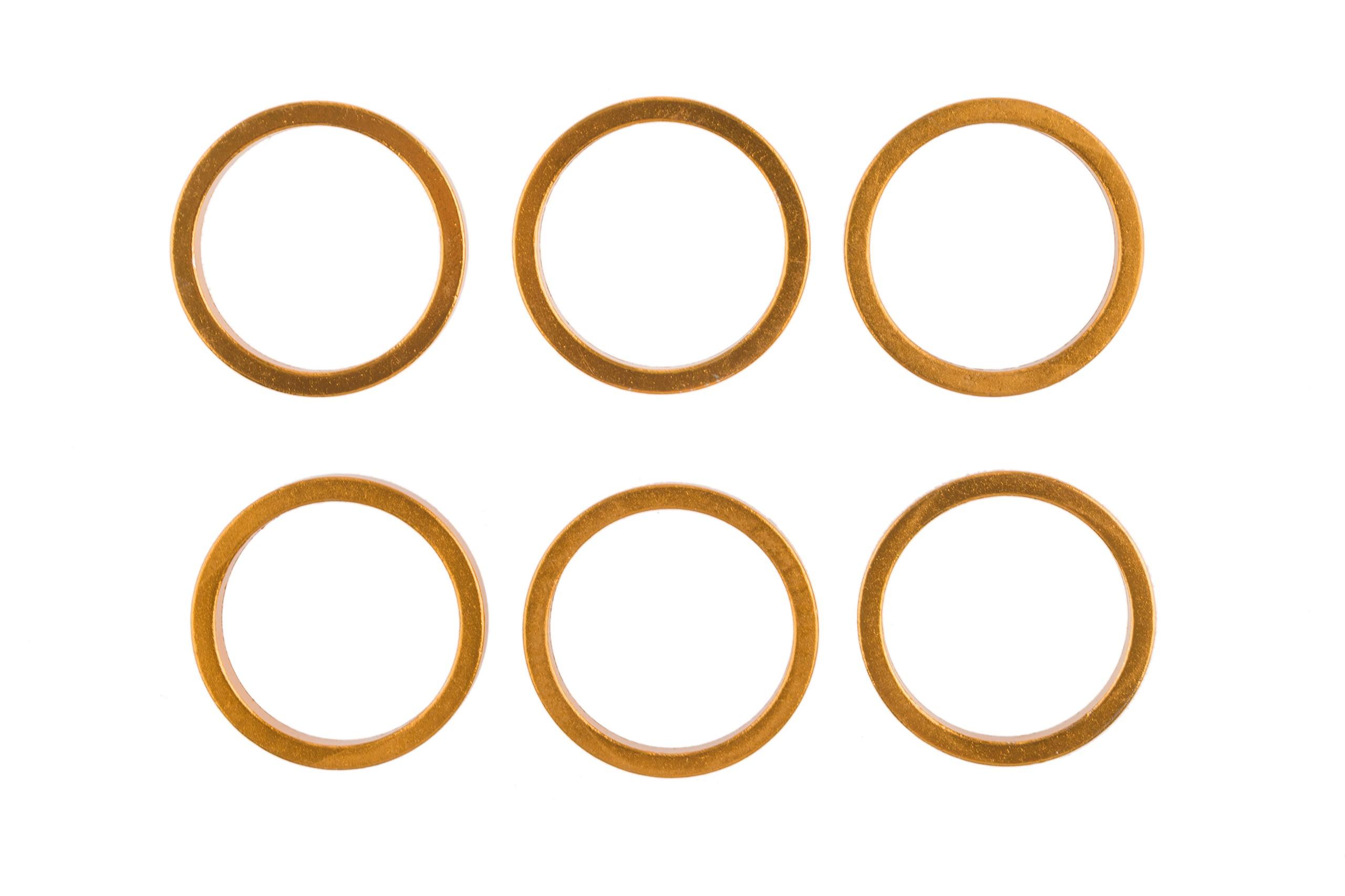 Podkładka dystansowa M-Wave ahead 5mm zółto-pomarańczowa