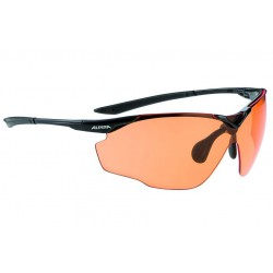 Okulary ALPINA SPLINTER SHIELD VL kolor BLACK szkło ORANGE S2-3