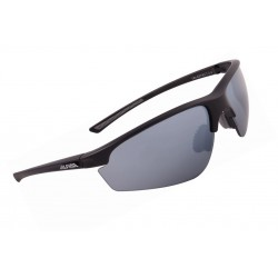 Okulary ALPINA TRI-EFFECT 2.0 kolor BLACK MATT szkło BLK MIRR S3/CLEAR S0/ORANGE MIRR S2