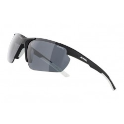 Okulary ALPINA DEFEY HR kolor BLACK MATT-WHITE szkło BLACK S3 new 2021