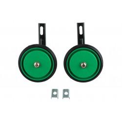 Kółka pomocnicze pełne z oponką 12'' S zielone