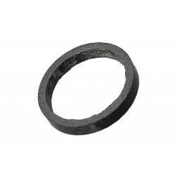 Podkładka dystansowa 1 1/8 5mm karbonowa, czarna