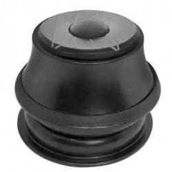 """Stery 1 1/8"""" półzintegrowane K4 15mm 44mm czarne"""