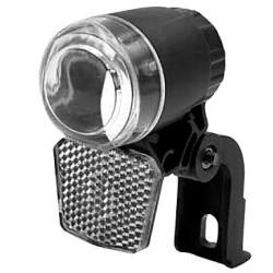 Lampa przednia /bateryjna/ XC-7071 uchwyt na widelec LED + odblask, czarna CR2032