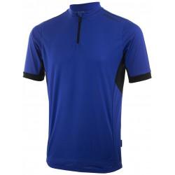 Koszulka ROGELLI PERUGIA 2.0 kr.r niebieska L