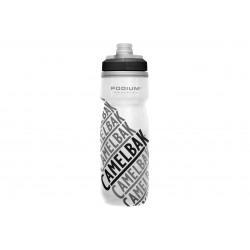 Bidon CAMELBAK Podium Chill 21oz, Race Edition 620ml biały w czarne napisy