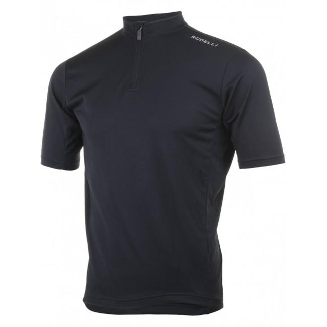 Koszulka ROGELLI BASE kr.r czarna L