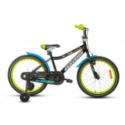 Rower 20 SAVENO VOLT czarno-zielony 2021
