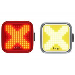 Lampa Blinder X Twinpack Knog zestaw p+t 200+100lm