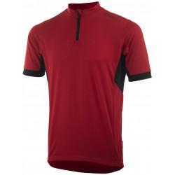 Koszulka ROGELLI PERUGIA 2.0 kr.r czerwona M