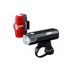 Lampa p+t /akumulator/ Cateye AMPP 500 HL-EL085RC / TL-LD635 Rapid MINI 25LM 2021