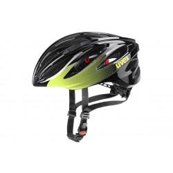 Kask UVEX BOSS RACE lime-anthr 55-60cm czarno zielony