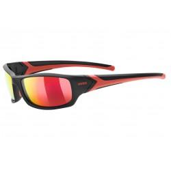 Okulary UVEX SPORTSTYLE 211 pola black czarne