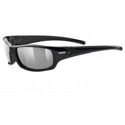 Okulary UVEX SPORTSTYLE 211 pola blk mat/red