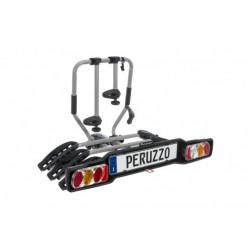 Bagażnik samochodowy na 3 rowery, na hak, Peruzzo Siena 3R, odchylany (listwa ze światłami)