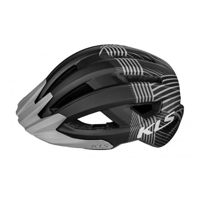 Kask KELLYS DAZE MTB z daszkiem L/XL 58-61cm czarno-szary /black/
