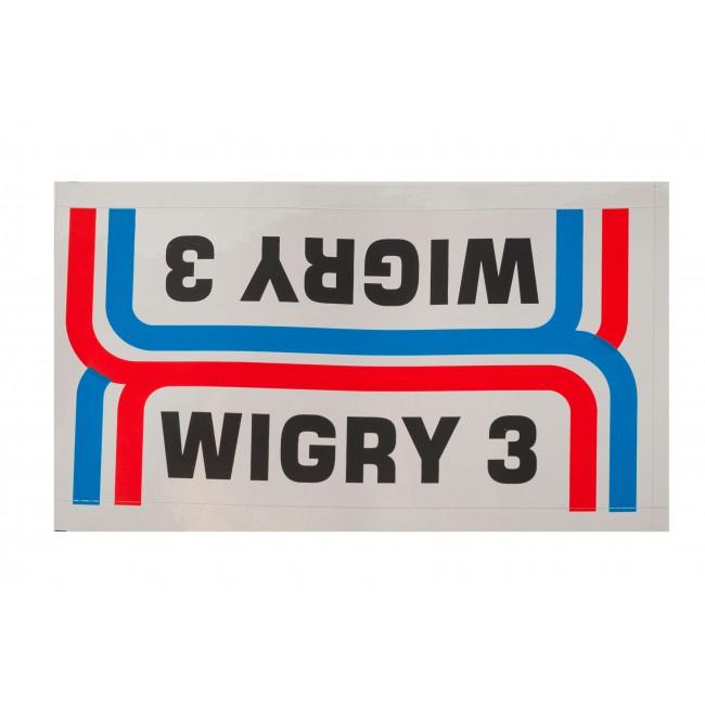 Naklejki na rower Predom ROMET WIGRY 3 chrom