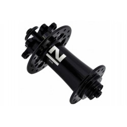 Piasta przednia alu. 28H, V-BR, QR, czarna /Novatec 791SB/