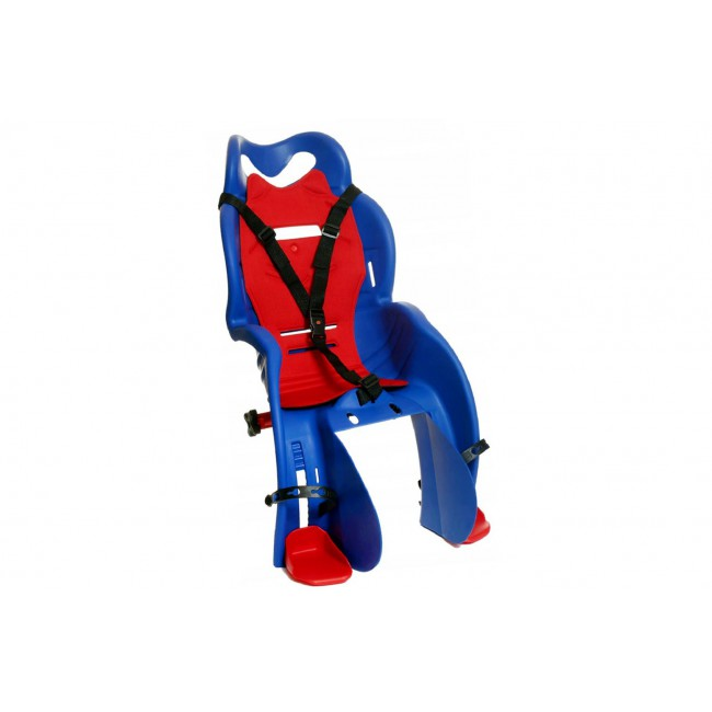 Fotelik dla dziecka SANBAS na bagażnik niebieski