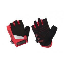 Rękawiczki ACCENT Draft czarno-czerwone XXL