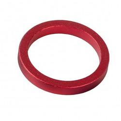 Podkładka dystansowa ACCENT sterów aluminiowa 5mm czerwona
